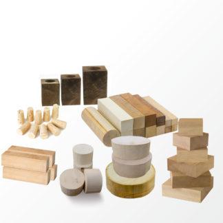 Holz und Korken