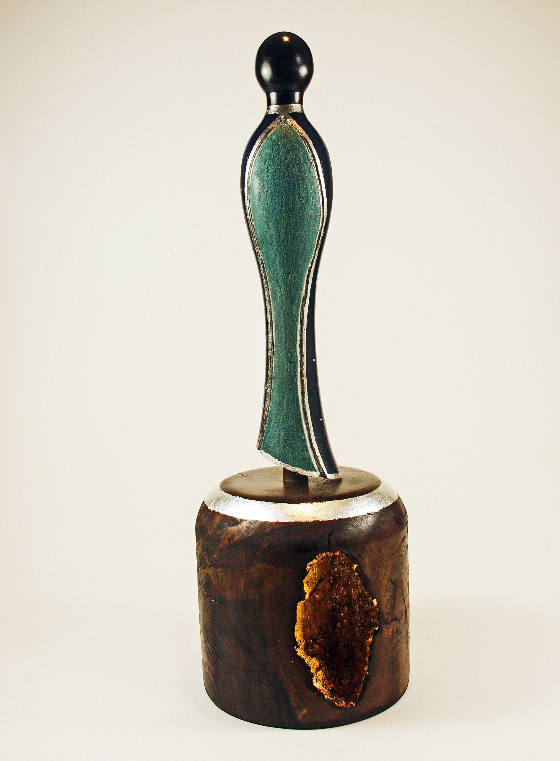 "Skulptur ""NOTRE-DAME de Sous-Terre"" von Manfred Rogler"