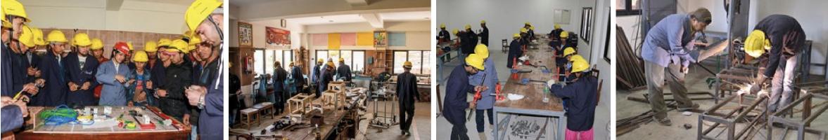Bau des Ausbildungszentrum OVS in Olgapuri