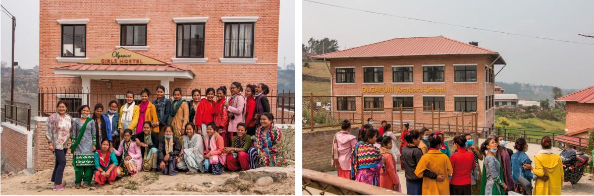 """Girls Hostel"" in Olgapuri"